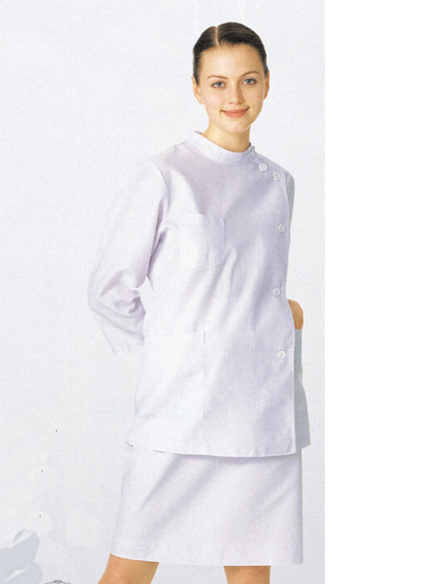 Stand collar women Nursing dress